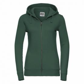 DÁMSKÁ MIKINA PREMIUM - LADIES AUTHENTIC ZIPPED HOODED SWEAT